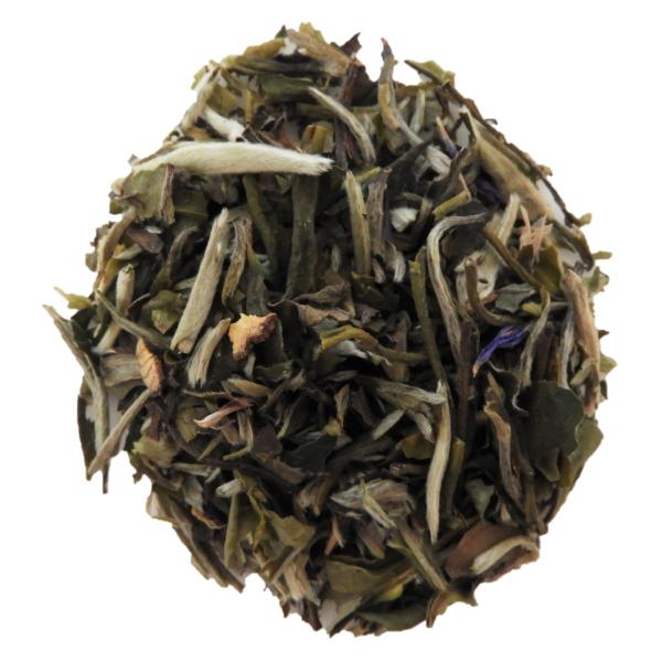 Blueberry loose leaf tea.