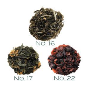 Flavorful Favorites tea package.