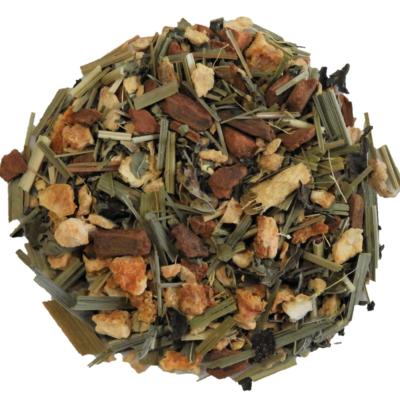 Ginger Lemongrass Tea with CBD.