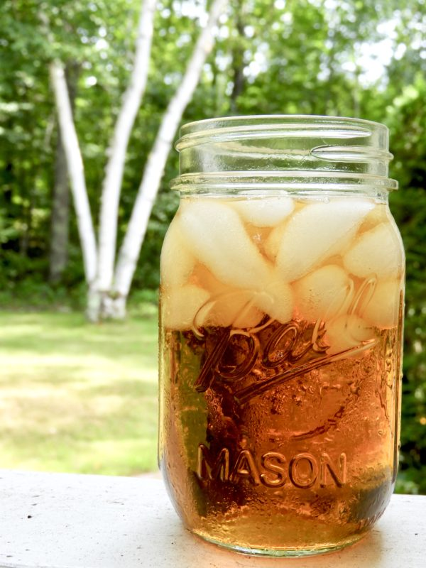 Home made iced tea.
