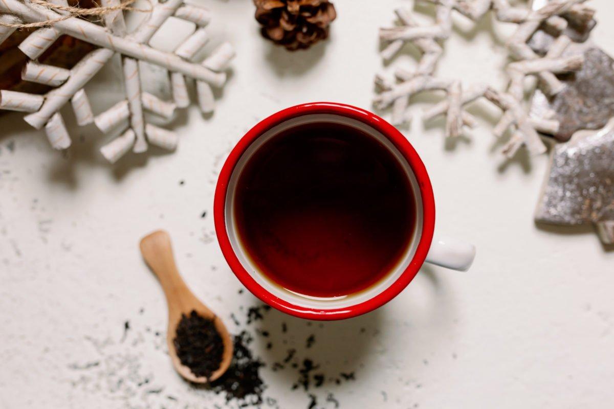 Tea at Christmas.
