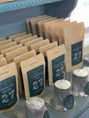 Bags of tea