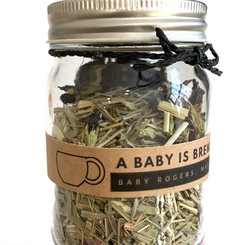 Baby Shower Tea Favor