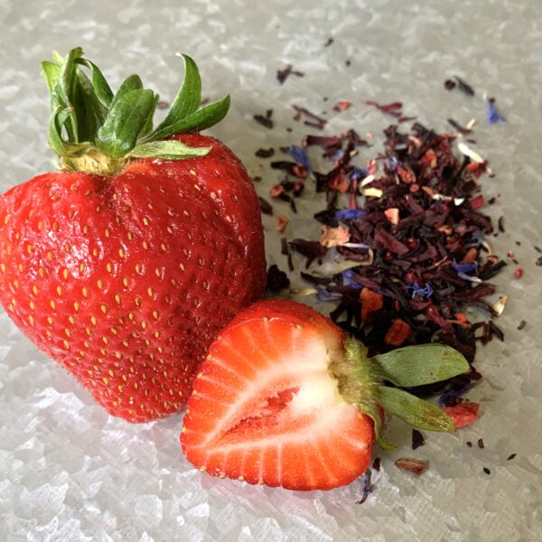 Strawberry hibiscus loose leaf